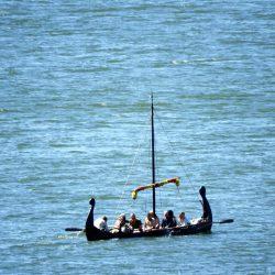 VIkinški brod u zaljevu otoka Björkö. Izvor: Nordic Point