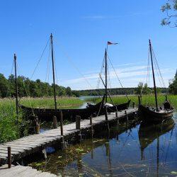 Vikinški brodovi u luci, Birka. Izvor: Nordic Point
