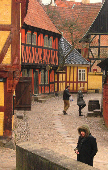 Danska - regije-gradovi