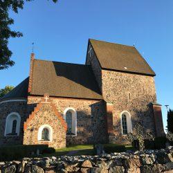 Crkva u mjestu Gamla Uppsala. Izvor: Nordic Point