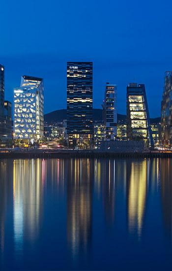 Norveška - regije - gradovi