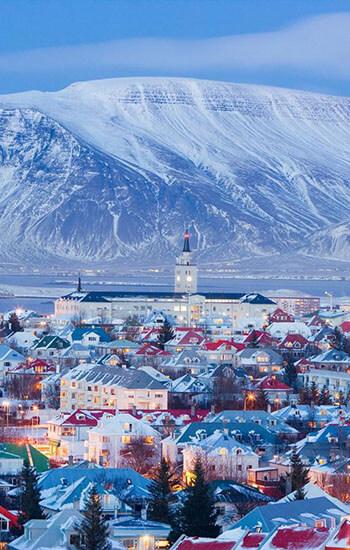 Island - regije i gradovi