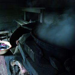 Finska sauna. Izvor: Matti Koutonen/VisitFinland