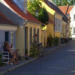 Østergade, Ærøskøbing, Ærø. Izvor: Bjørg Kiær/VisitDenmark