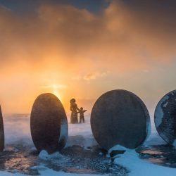 'Djeca Zemlje' spomenik, Nordkap.
