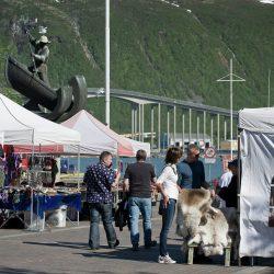 Norveški ulični sajam, Tromso. Izvor: CH - Visitnorway.com