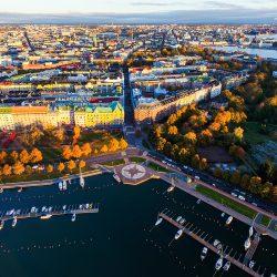 Helsinki panorama. Izvor: Julia Kivelä