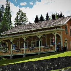 Telemark kanal, Vrangfoss ustav, restoran Lock Master's House. Izvor: NordicPoint