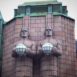 'Ljudi od kamena', željeznička stanica, Helsinki. Izvor: Nordic Point