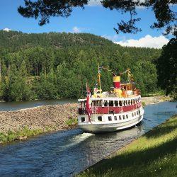 Telemark kanal, brod Henrik Ibsen. Izvor: NordicPoint