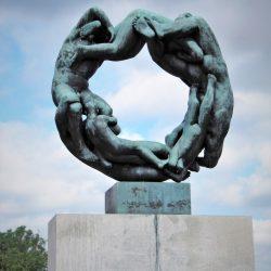 'Kotač života', Park Vigeland, Oslo. Izvor: NordicPoint