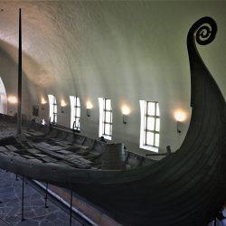 Oseberg brod, Muzej vikinških brodova, Oslo. Izvor: NordicPoint