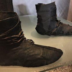 Vikinške čizme, Muzej vikinških brodova. Izvor: NordicPoint