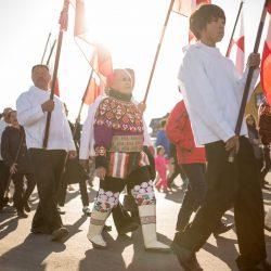 Parada na Nacionalni dan, 21.6., Nuuk. Izvor: Mads Pihl - Visit Greenland