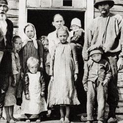 Sámi obitelj naselila Västerbotten.