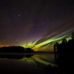 Polarna Svjetlost. Izvor: Anders Tedeholm/imagebank.sweden.se
