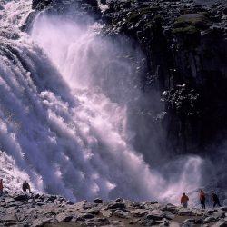 Vodopad Dettifoss, Island.