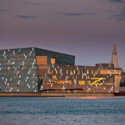 Harpa - koncertna dvorana, Reykjavik. Izvor: VisitIsland
