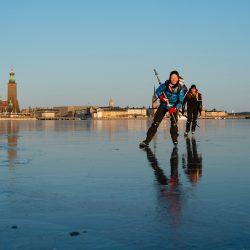 Klizanje na ledu, Stockholm. Izvor: Helena Wahlman/imagebank.sweden.se