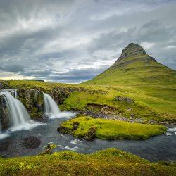 Vodopad Kirkjufellsfoss