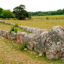 Kameni brod, u vikinsko doba oznacavao se grob ili ceremonijalno mjesto. Gotland. Izvor: Rodrigo Rivas Ruiz/imagebank.sweden.se