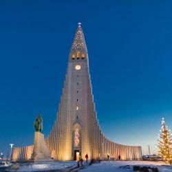 Hallgrímskirkja, Reykjavik.