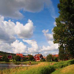 Klasične švedske drvene kuće, Dalarna. Izvor: Synöve Borlaug Dufva/imagebank.sweden.se