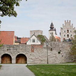 Gradske zidine, Visby, Gotland. Izvor: Tuukka Ervasti/imagebank.sweden.se