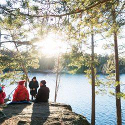Uživanje u prirodi, Švedska. Izvor: Ulf Lundin/Imagebank.sweden.se