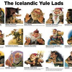 Yule dječaci, Island