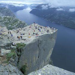 Preikestolen, Lysefjord. Izvor: Casper Tybjerg - Visitnorway.com