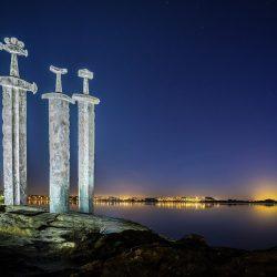 'Mač u stijeni', Stavanger. Izvor: Richard Larssen/visitnorway.com