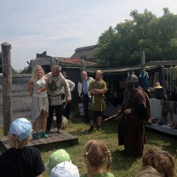 Fotevikens vikinški muzej, Höllviken. Izvor: NordicPoint