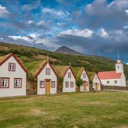 Laufaskirkja, Nordurland, Island
