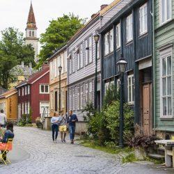 Bakklandet, Trondheim. Izvor: CH - Visitnorway.com