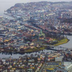 Trondheim. Izvor: Berge/Knoff/Natural Light/Visitnorway.com