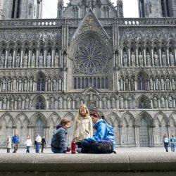 Nidaros katedrala, Trondheim. Izvor: CH - Visitnorway.com