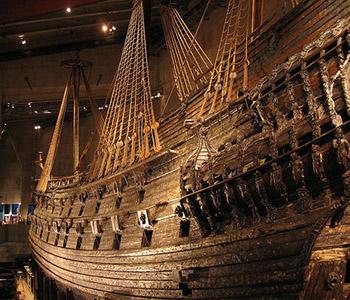 Brod Vasa, Stockholm