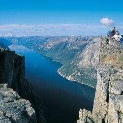 Planina Kjerag, Lysefjorden