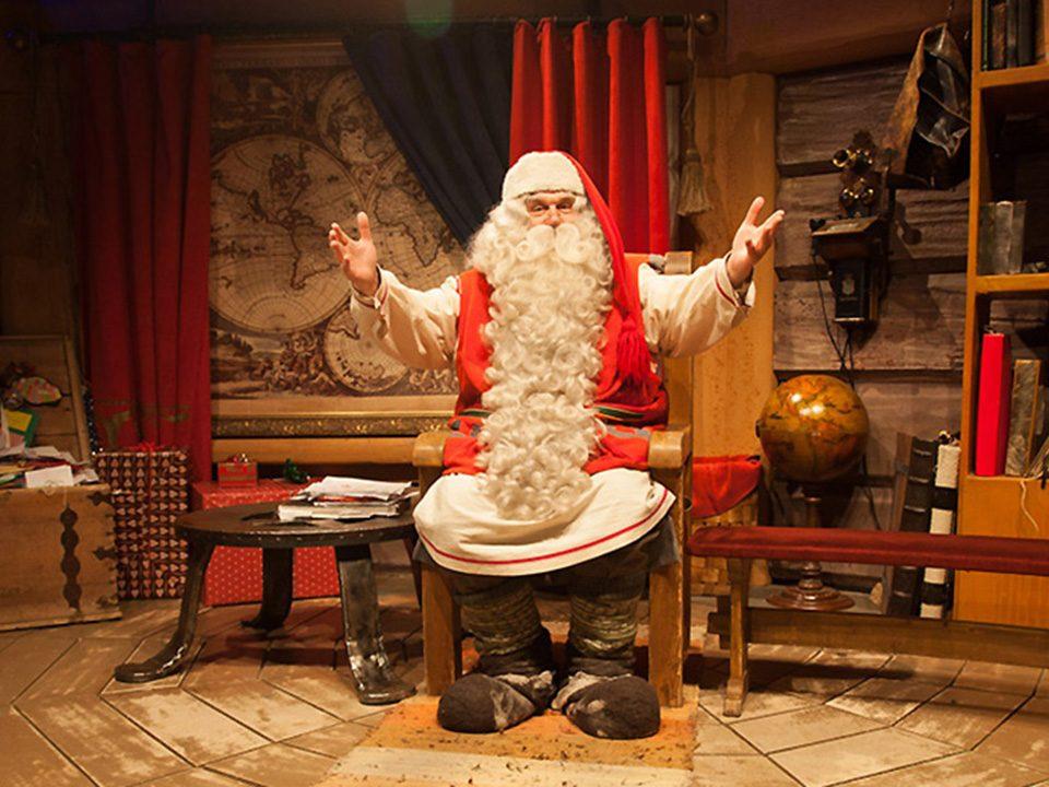Djed Mraz, Rovaniemi