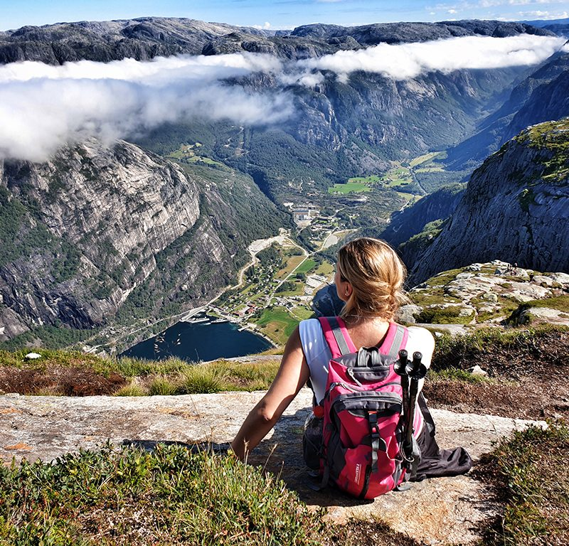 Hike na Kjerag. Photo by: Nordic Point