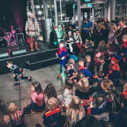 Proslava nacionalnog dana Sámi naroda, yoik koncert u Gradskoj vijećnici, Tromso.