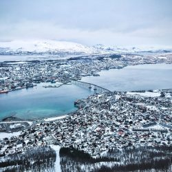Pogled sa planine Storsteinen, Tromsø. Photo by: Nordic Point