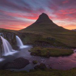 Planina Kirkjufell, Island