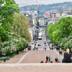 Karl Johans Gate, Oslo. Izvor: Nordic Point