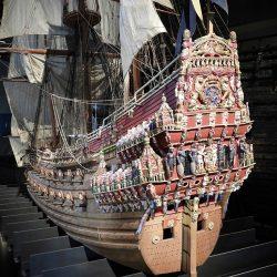 Model broda Vasa, Muzej Vasa. Izvor: Nordic Point